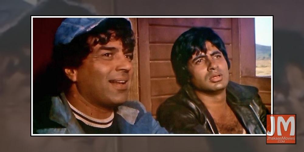 Amitabh Bachchan & Dharmendra