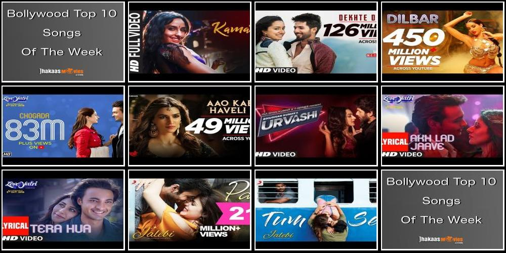 Top 10 Bollywood Songs This Week : 15th Oct 2018