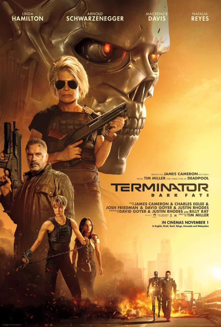 Arnold Schwarzenegger's Terminator: Dark Fate will release in India on