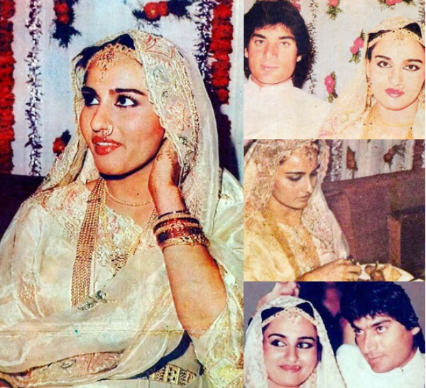 Reena Roy Mohsin Khan Wedding Pics