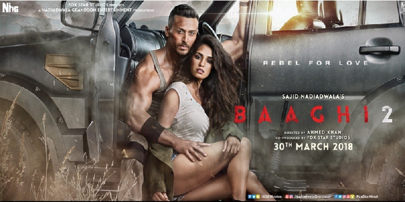 Baaghi 2 Trailer released.