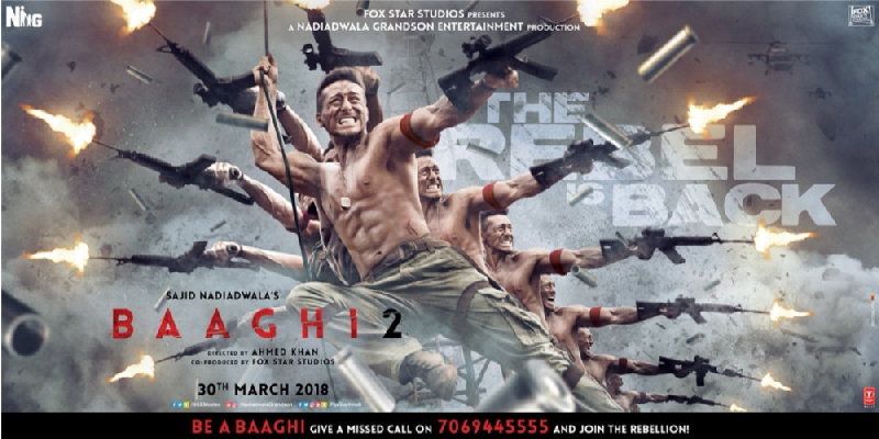 Baaghi 2 3rd Poster