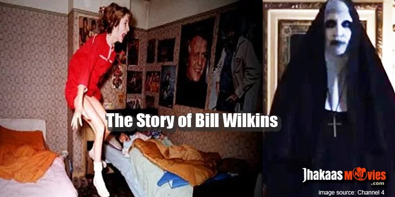 Downstairs the ghost of bill wikins after returning from his grave