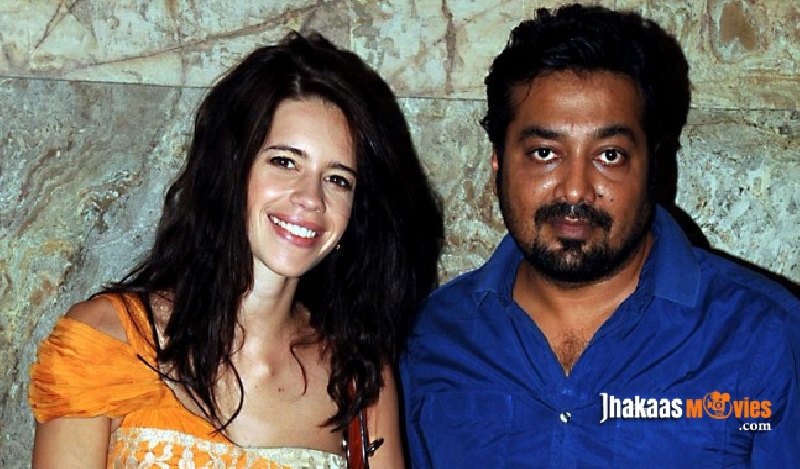 Anurag Kashyap and Kalki Kochelin