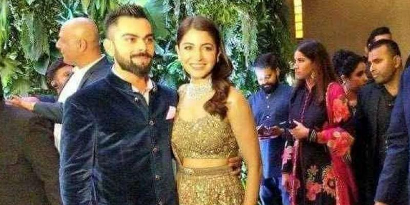 Anushka Sharma And Virat Kohli Wedding Reception in Mumbai