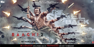 The third poster of Baaghi 2 released
