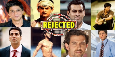 20 Roles rejected by these Bollywood Stars went on to become Huge Hits.