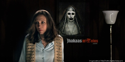 Bonnie Aarons is the Demon Nun of The Conjuring 2