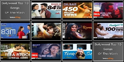 Top 10 Bollywood Songs This Week : 8th Oct 2018