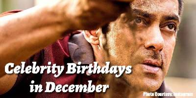 December Birthdays in Bollywood