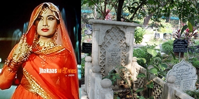 Bollywood Actress Meena Kumari and her Grave
