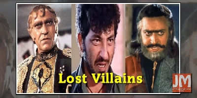 Lost Villain Characters From Bollywood Movies