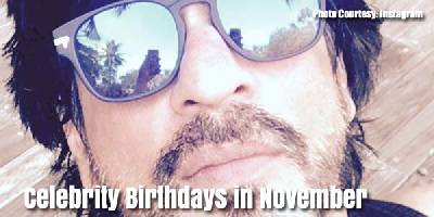 November Birthdays in Bollywood