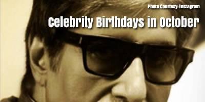 October Birthdays in Bollywood