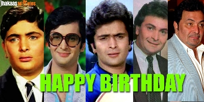 Happy 64th Birthday Rishi Kapoor