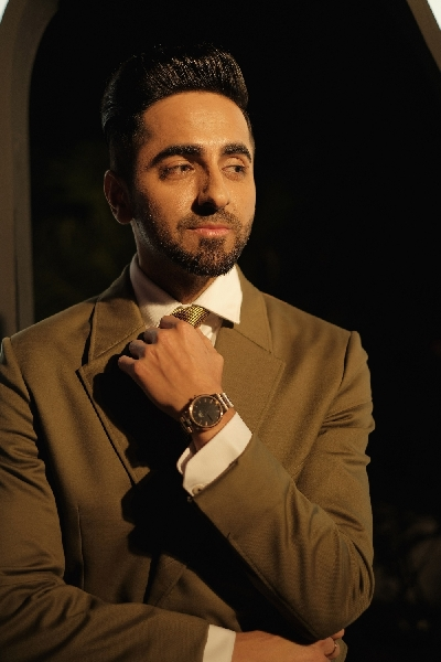 New Delhi: Ayushmann Khurrana at the Daniel Wellington DWali Party in New Delhi on Oct 11, 2019. (Photo: IANS)