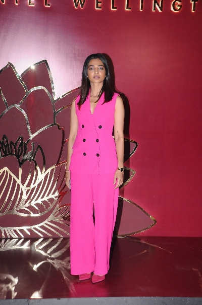 New Delhi: Actress Radhika Apte at the launch of a new collection of Daniel Wellington watches, in New Delhi on Oct 11, 2019. (Photo: Amlan Paliwal/IANS)