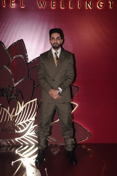 New Delhi: Actor Ayushmann Khurrana at the launch of a new collection of Daniel Wellington watches, in New Delhi on Oct 11, 2019. (Photo: Amlan Paliwal/IANS)